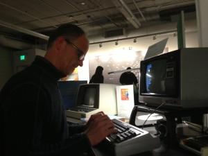 Martin Remy knows how to program really old computers (in a Seattle computer museum)