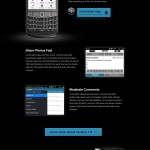 WordPress Mobile Apps Websites - BlackBerry